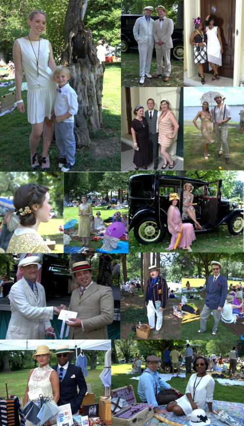 Jazz Age Roaring 1920's Lawn Party