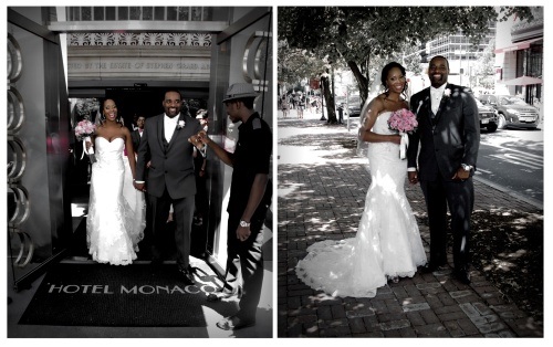 HOTEL MONACO | Sean Jamaal Lyerly and Trinia Denise Hawkins
