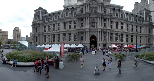 City Hall Front Panorama