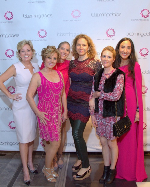 The fashion show featured five breast cancer survivors as models