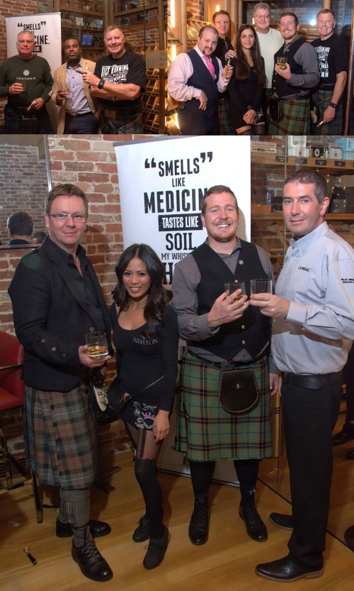 ASHTON CIGAR BAR  | Real men Do wear Kilts!