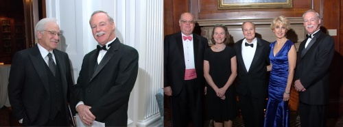 Jim Gardner (abc) DR. Joseph P. Bilson (CEO, Wills Hospital)  | Dr. Ralph Eagle, Carol Shields, Dr. Jerry Shields, Dr. Julia A. Haller (Opthamologist-In Chief)-In Chief), Dr. Joseph P. Bilson (CEO, Wills Hospital)