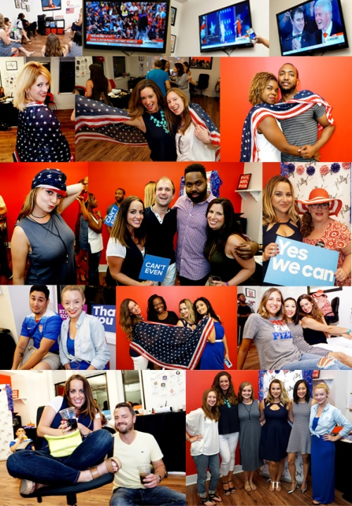 July-28,-2016-DNC-Watch-Party-@Philly-PR-Girl-Long-board