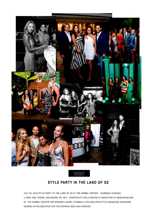 July 26, 2018 Style Party In The Land Of OZ